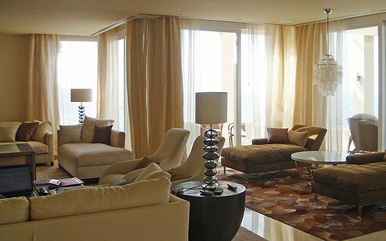интерьер гостиной - фото № 27305