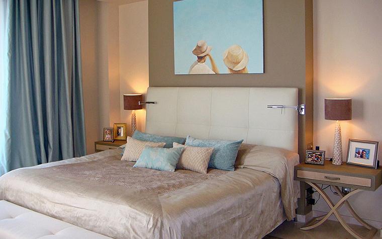 интерьер спальни - фото № 27317
