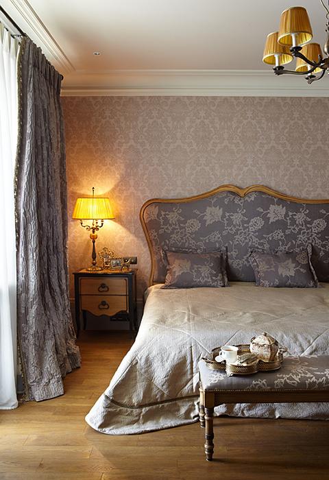 Фото № 27834 спальня  Загородный дом