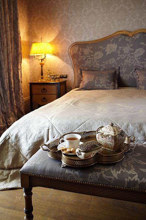 Фото № 27835 спальня  Загородный дом
