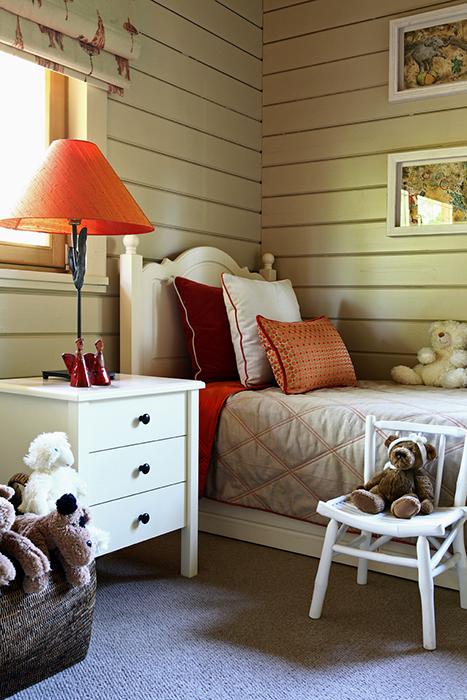 14 детских комнат из массива дерева