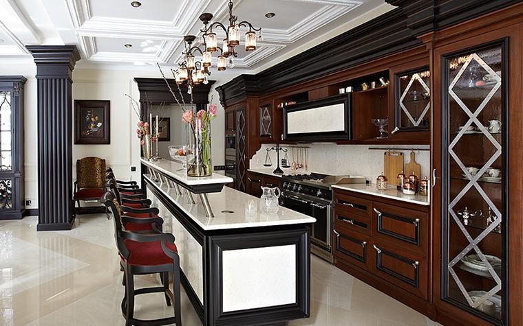 Фото № 28058 кухня  Загородный дом