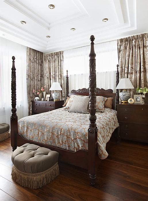 Фото № 28077 спальня  Загородный дом