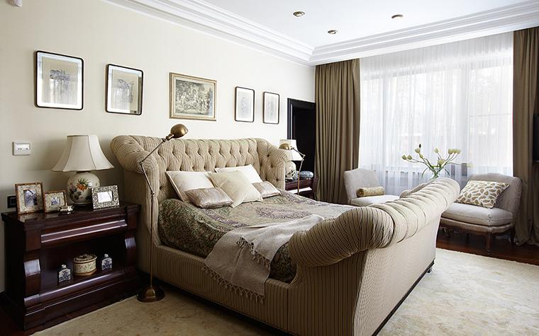 Фото № 28080 спальня  Загородный дом