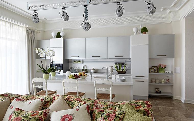 Фото № 28145 кухня  Загородный дом