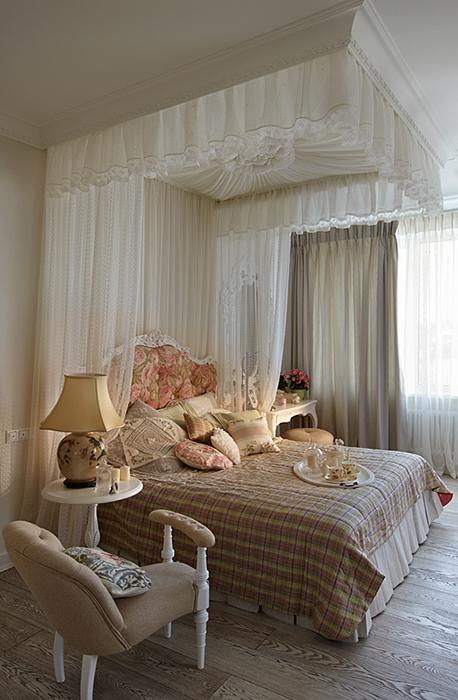 Фото № 28154 спальня  Загородный дом