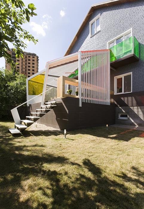 Загородный дом. терраса  из проекта , фото №28188