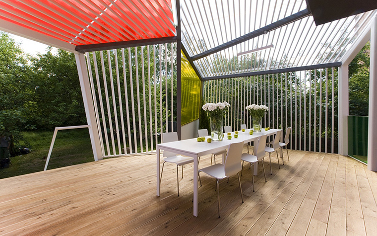 Загородный дом. терраса  из проекта , фото №28197