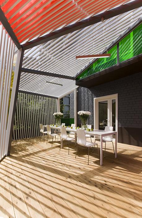 Загородный дом. терраса  из проекта , фото №28198