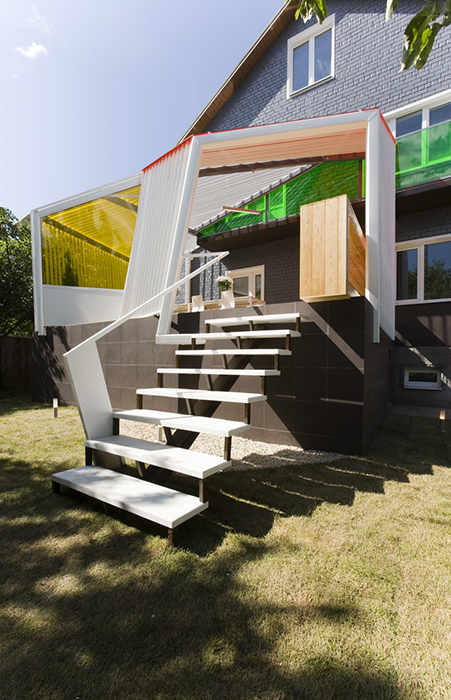 Загородный дом. терраса  из проекта , фото №28189