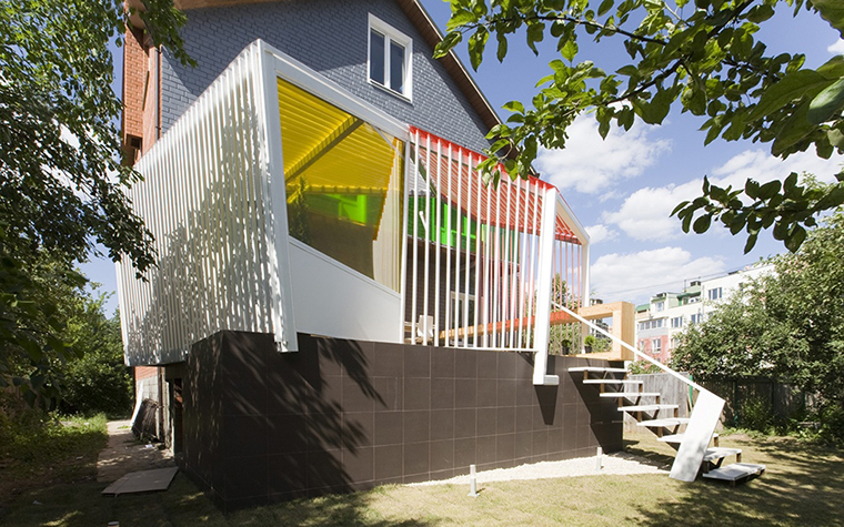 Загородный дом. терраса  из проекта , фото №28190