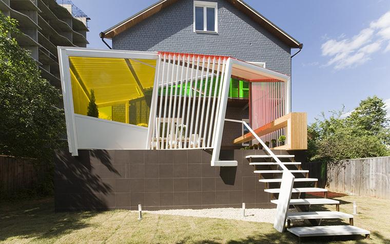 Загородный дом. терраса  из проекта , фото №28191
