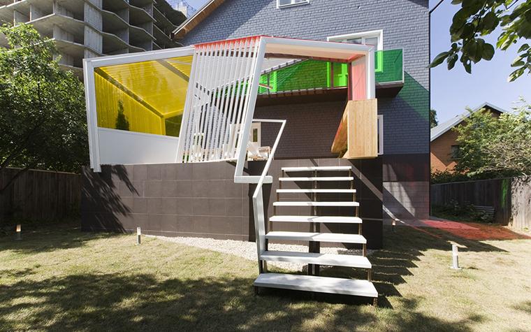 Загородный дом. терраса  из проекта , фото №28192