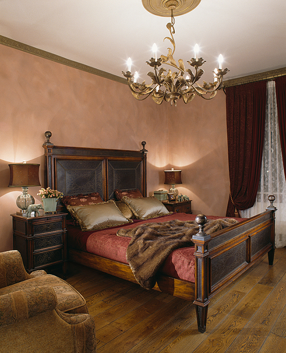 интерьер спальни - фото № 28206