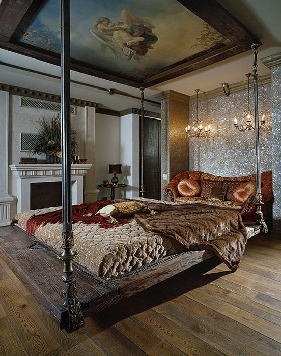 интерьер спальни - фото № 28204