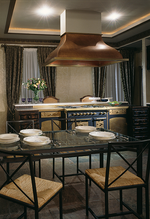 Фото № 28202 кухня  Загородный дом