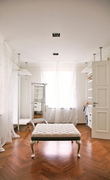 12 гардеробных комнат