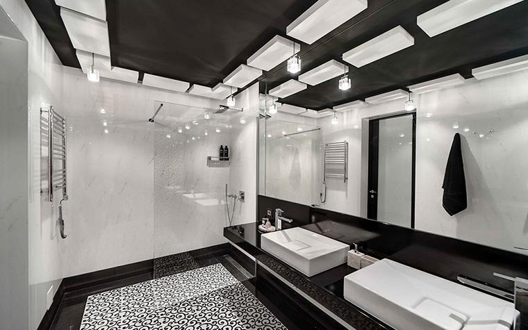 Фото № 28425 ванная  Загородный дом