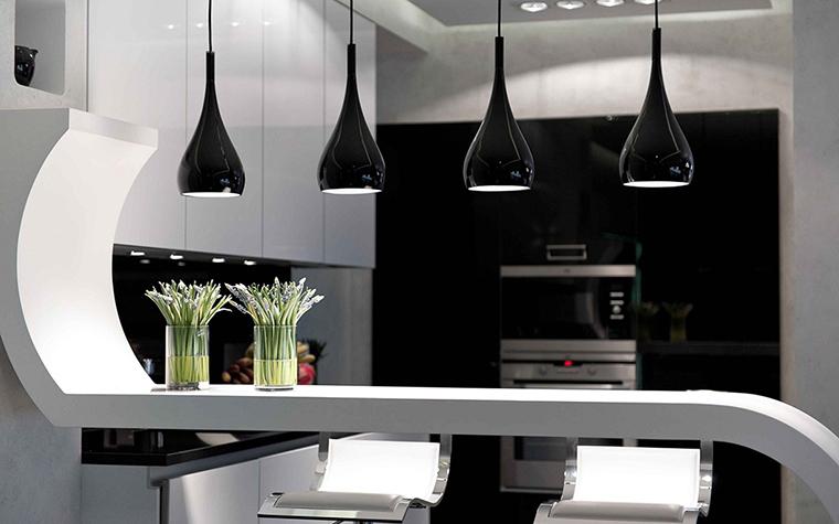 Фото № 28413 кухня  Загородный дом