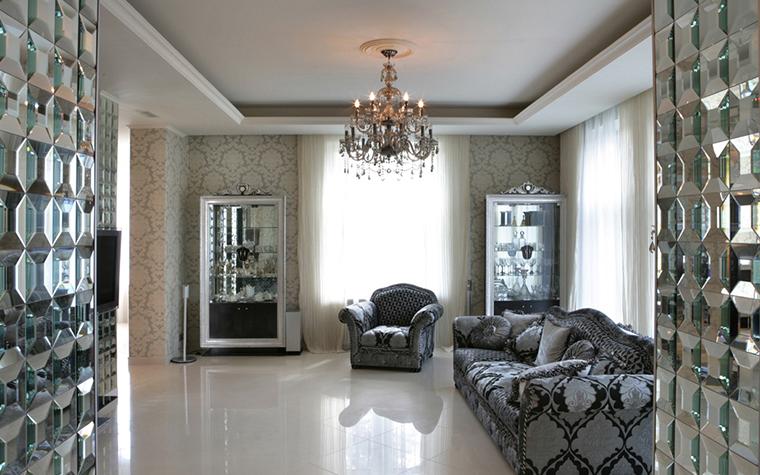 интерьер гостиной - фото № 28449