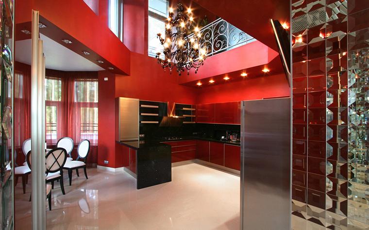 Фото № 28450 кухня  Загородный дом