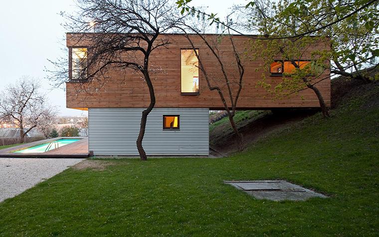 Загородный дом. фасад из проекта , фото №28621