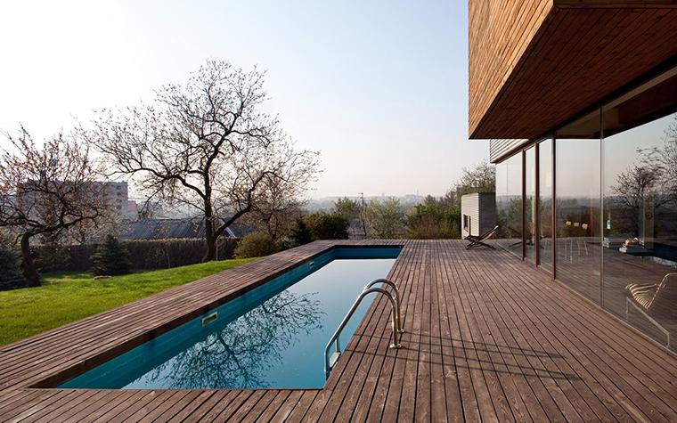 Загородный дом. терраса  из проекта , фото №28625