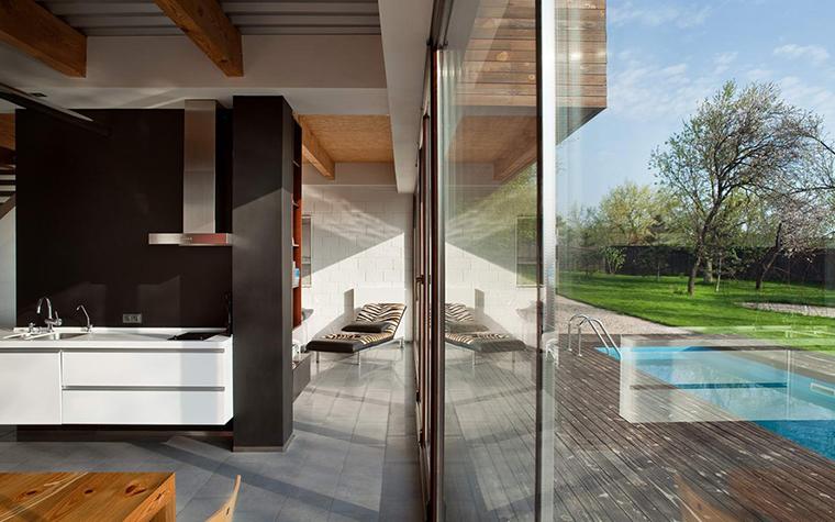 Загородный дом. кухня из проекта , фото №28623