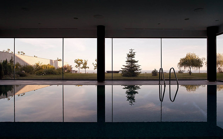 Загородный дом. бассейн из проекта , фото №28645