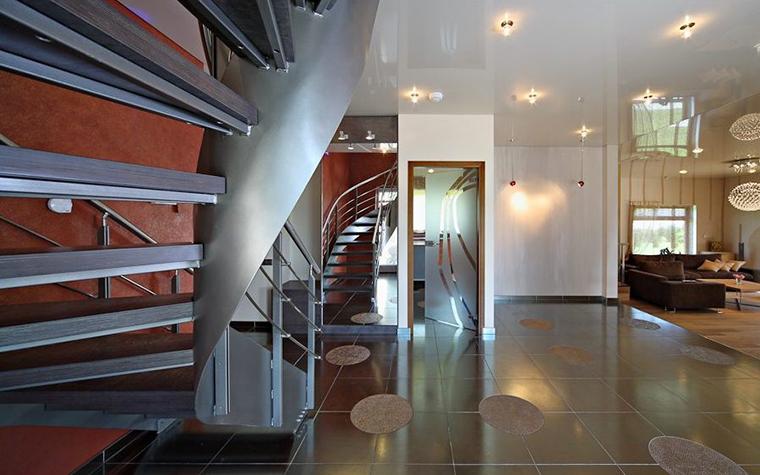 Загородный дом. холл из проекта , фото №28676