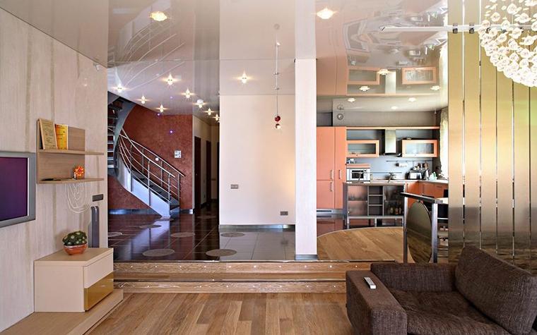 Фото № 28668 гостиная  Загородный дом