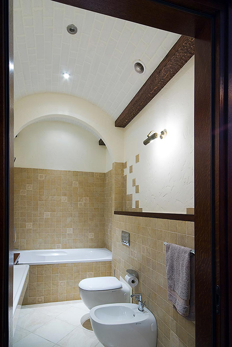Загородный дом. ванная из проекта , фото №28818
