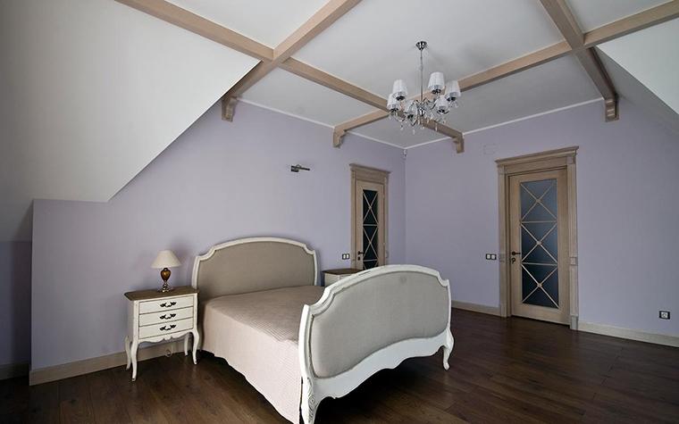 Загородный дом. спальня из проекта , фото №28930