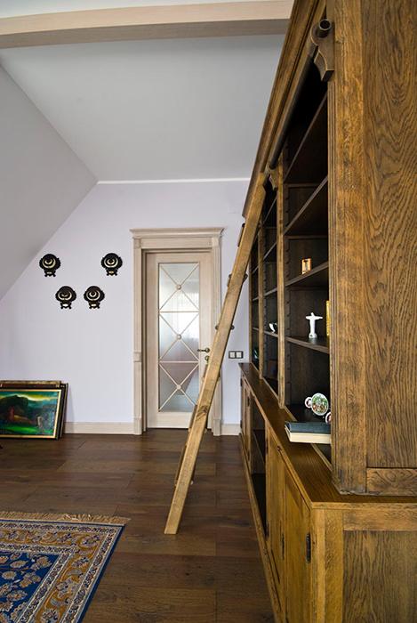 Загородный дом. кабинет из проекта , фото №28929