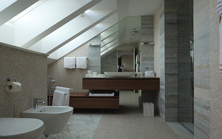 Загородный дом. ванная из проекта , фото №28955