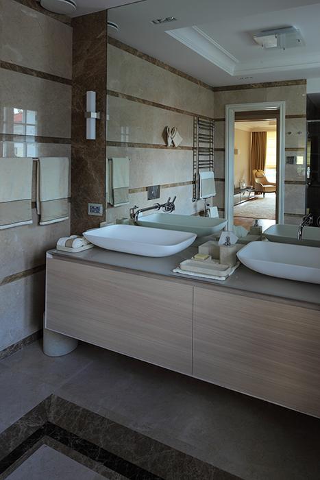 Загородный дом. ванная из проекта , фото №28956