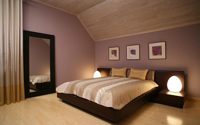 Загородный дом. спальня из проекта , фото №29095
