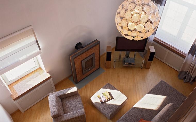 интерьер гостиной - фото № 29084