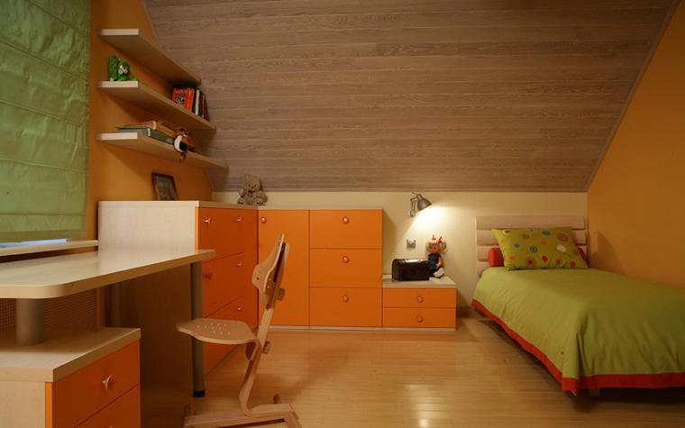 Загородный дом. детская из проекта , фото №29096