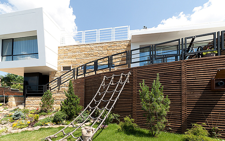 Загородный дом. фасад из проекта , фото №29413
