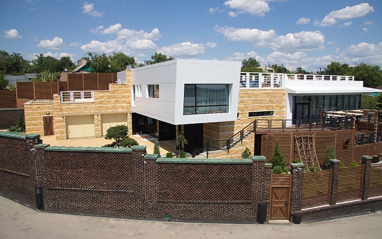Загородный дом. фасад из проекта , фото №29412