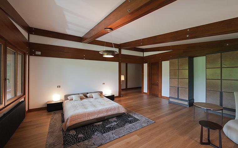 Фото № 29133 спальня  Загородный дом