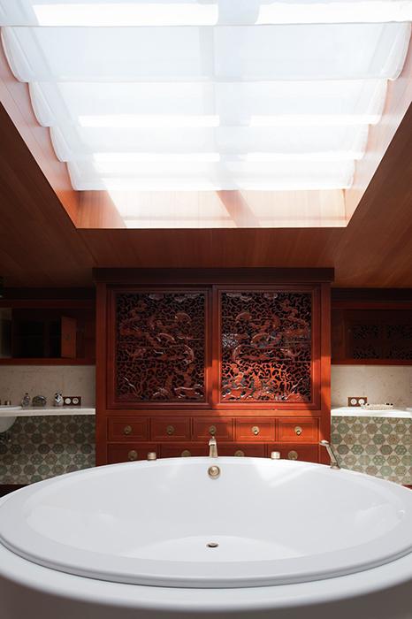 Фото № 29325 ванная  Загородный дом