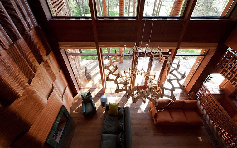 Фото № 29238 гостиная  Загородный дом