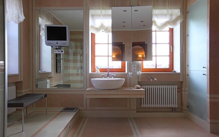 Загородный дом. ванная из проекта , фото №29258