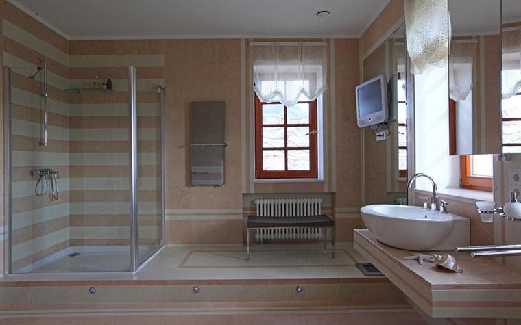 Загородный дом. ванная из проекта , фото №29259