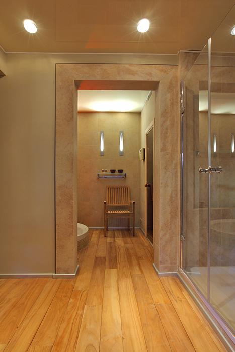 Загородный дом. ванная из проекта , фото №29261