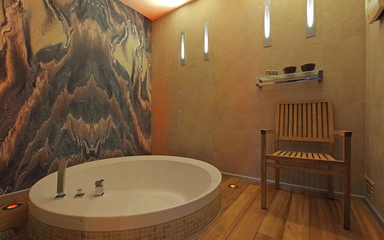 Загородный дом. ванная из проекта , фото №29262