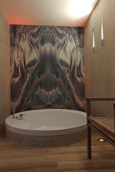 Загородный дом. ванная из проекта , фото №29263