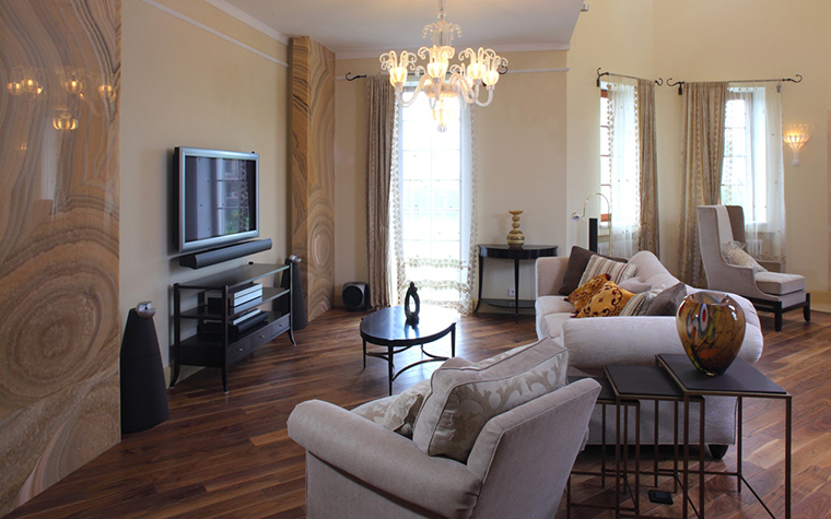 интерьер гостиной - фото № 29243